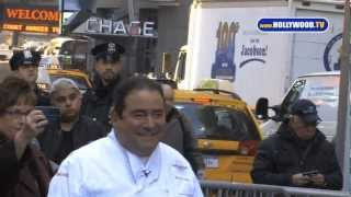 Bam! Emeril Lagasse Cooks For Gma In Nyc- Hollywood.tv