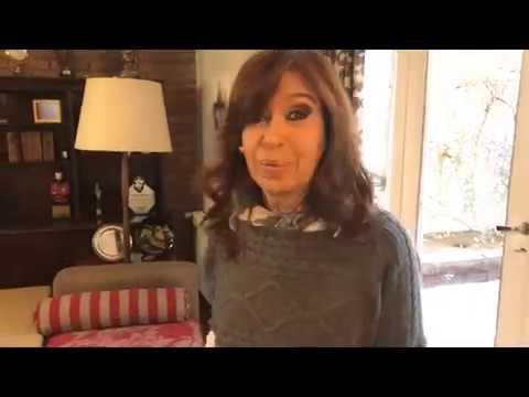 Cristina Kirchner sobre el ataque a la residencia de la Gobernacion de Santa Cruz