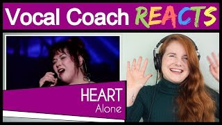 Download Lagu Vocal Coach reacts to Heart - Alone (Nancy and Ann Wilson Live) mp3