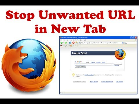 How To Stop Unwanted URL Opens in New Tab on Firefox?