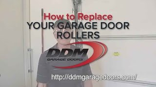 How To Replace Your Garage Door Rollers