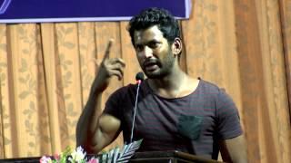 New Tamil Movie Poojai Audio launch Exclusive Full HD - Actor Vishal, Director Hari