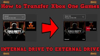How to Transfer Xbox One games to a External Harddrive or SSD
