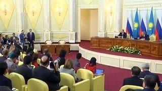 Заявления Путина в Казахстане: Россия оставляет двери открытыми