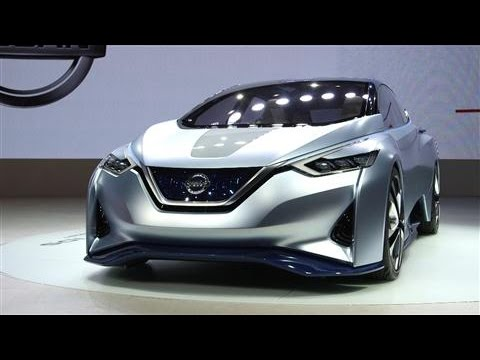 Nissan Aims for Driverless Cars on the Road by 2020 - YouTube