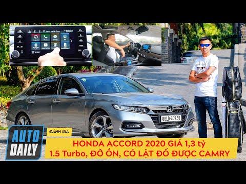 Honda Accord 2020 giá 1,3 tỷ: 1.5 Turbo chạy ngon, đỡ ồn, có lật đổ được Camry? |Autodaily|