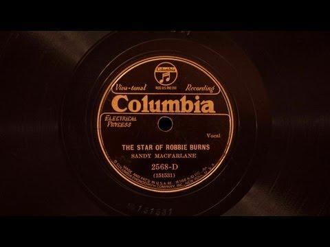 The Star of Robbie Burns • Sandy MacFarlane (Victor Credenza)