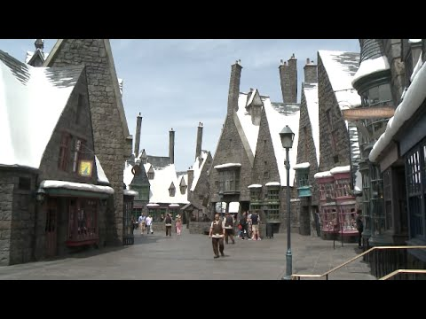 Harry Potter World Opens In Los Angeles Youtube