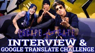 Baixar ESCAPE THE FATE Interview & Google Translate Challenge || Schruppert