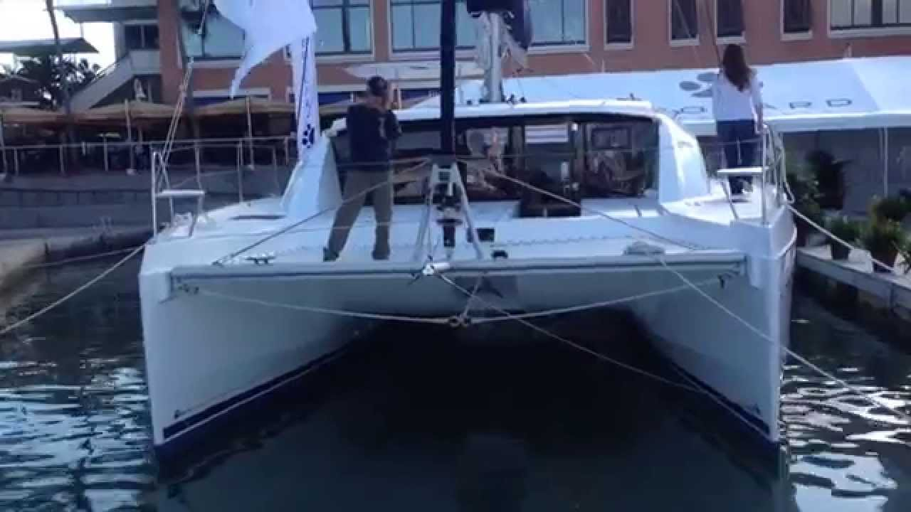 New Leopard 40 Catamaran Video Walkthrough By Ian Van