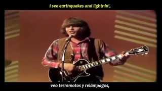 Creedence Clearwater Revival - Bad moon rising (inglés y español) Resimi