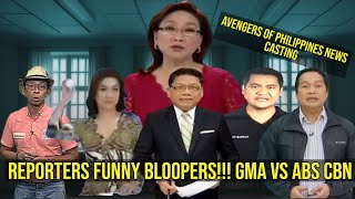Reporters Funny Moments Compilation Philippines Edition | GMA/ABS CBN