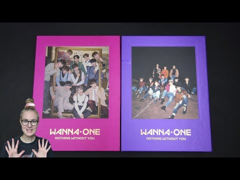 Unboxing Wanna One 워너원 1st Mini Album Repackage 1-1=0 (Nothing Without You) [Wanna & One Edition]