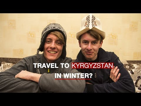 Travel to Kyrgyzstan in Winter Time