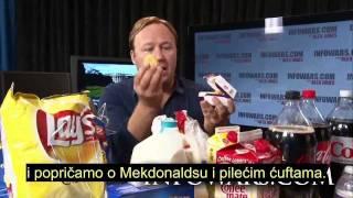 Alex Jones - Najveća tajna razotkrivena - Hrana (1/2)