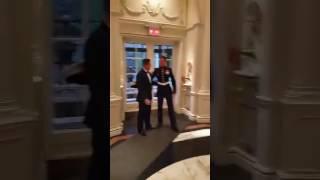 Marine surprises Brother at His Wedding
