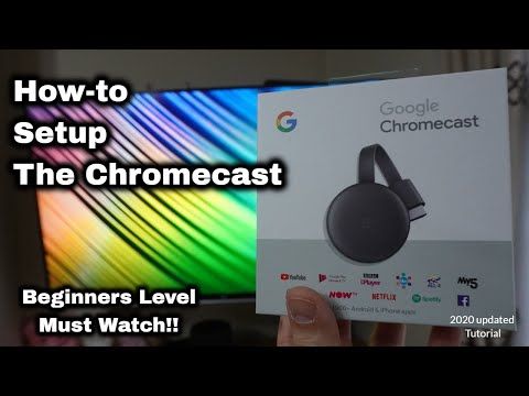 How To Set Up Google Chromecast 2020 ✔