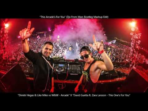Dimitri Vegas & Like Mike vs W&W - Arcade X David Guetta ft. Zara Larsson - This One's For You