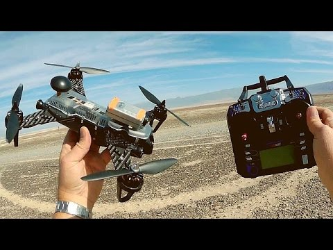 Zendrone Blazer 250 Pro GPS FPV Racer Drone Flight Test Review