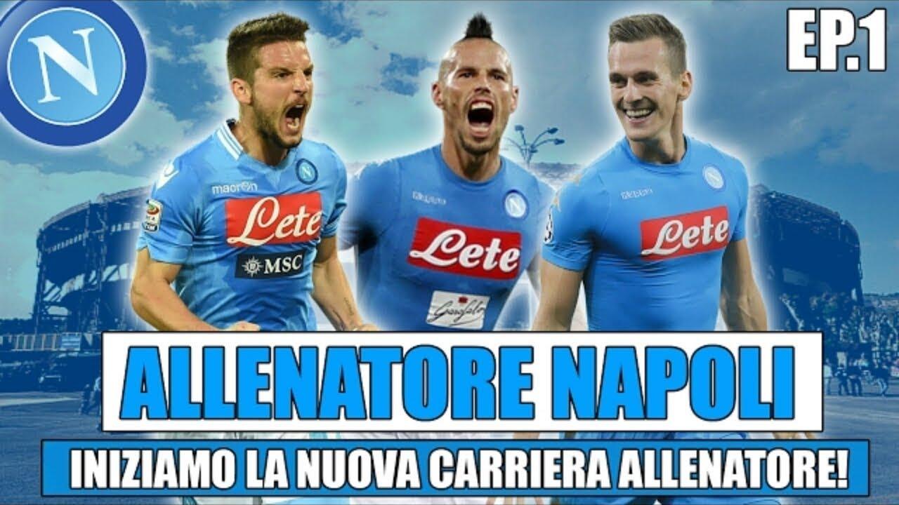 Inizia la nuova carriera allenatore!! Fifa 17 carriera allenatore Napoli #1 [by Giuse360]