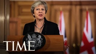 The Result Of The No Confidence Vote Against Prime Minister Theresa May Is Announced | TIME