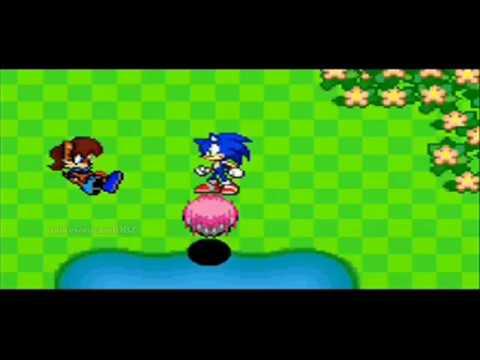 Sonic Battle Adventure (scrapped sprite animation)
