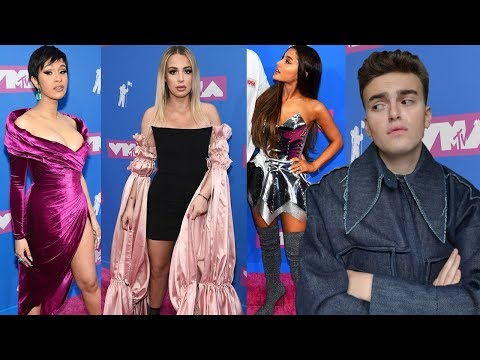 VMAs 2018 FASHION ROAST (tana is a mess, ariana has no style, and cardi killed it)