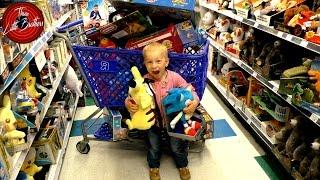 #1 Челлендж в магазине Сева ищет подарки,игрушки и сюрпризы в сша