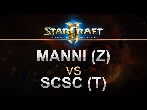 StarCraft 2 - LOTV 2016 - Manni (Z) v sCsC (T) on New Gettysburg LE