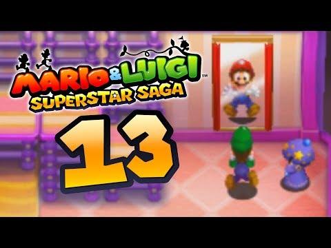 MARIO & LUIGI SUPERSTAR SAGA 3DS #13 - LUIGI DEVIENT... MARIO ?!