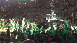 TD Garden crowd goes wild as Boston Celtics introduced for Game 3