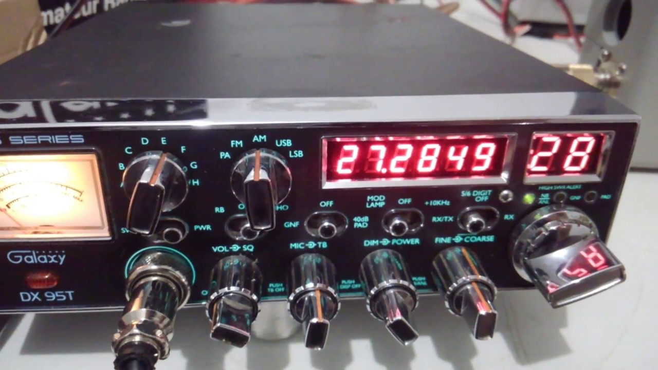 Galaxy 95t Big Rig Series Export CB Radio For Sale