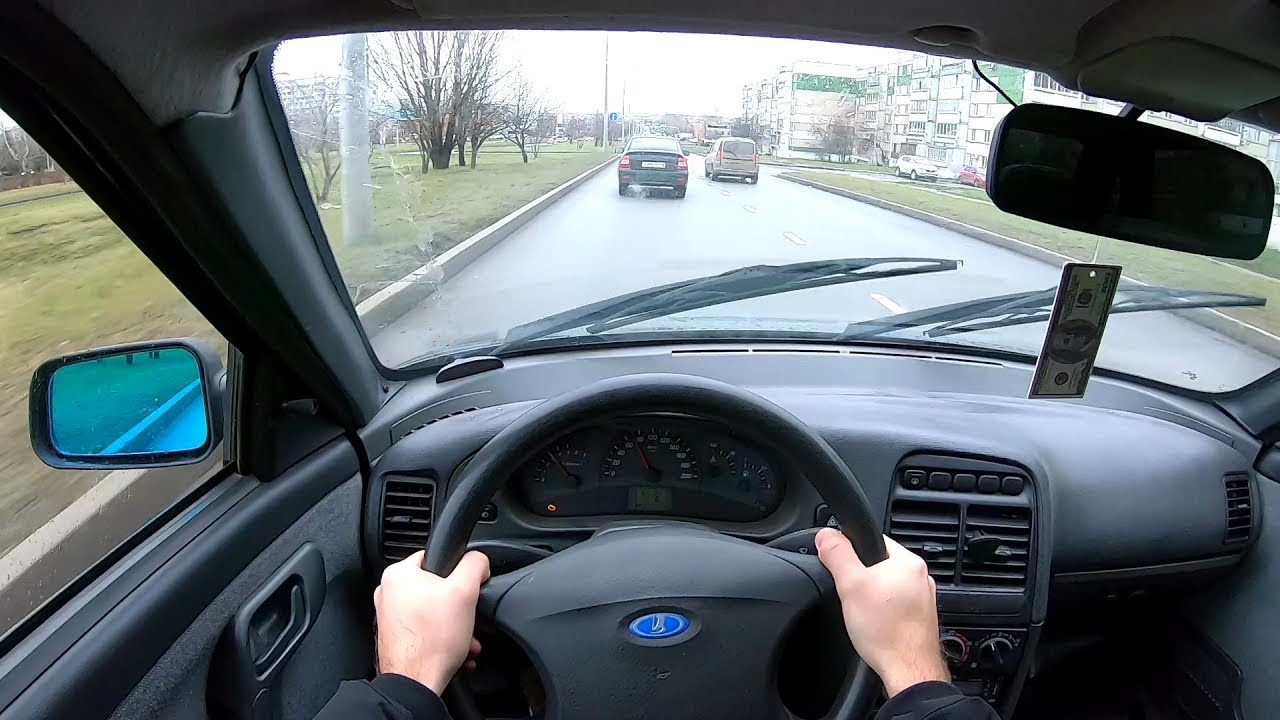 2007 ВАЗ 2110 1.6L (81) POV TEST DRIVE