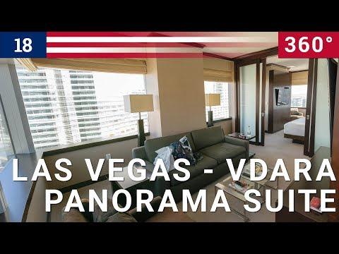 360 VR Vdara 270 degree Panoramic Corner Suite - Best road trip in USA