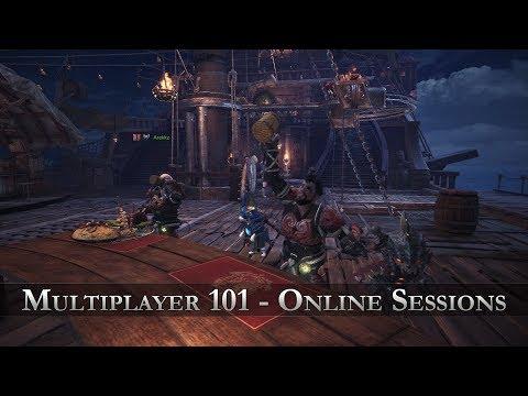 Monster Hunter: World - Multiplayer 101 - Online Sessions