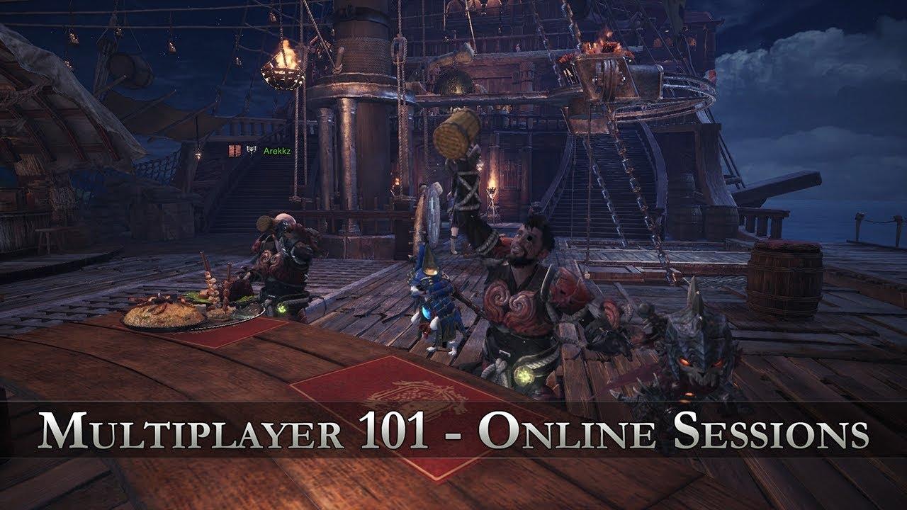 Monster Hunter 4 online matchmaking