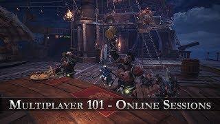 Monster Hunter: World - Multiplayer 101 - Online Sessions thumbnail