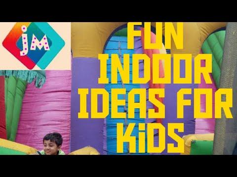 6 Fun INDOOR GAME / IDEAS FOR KIDS