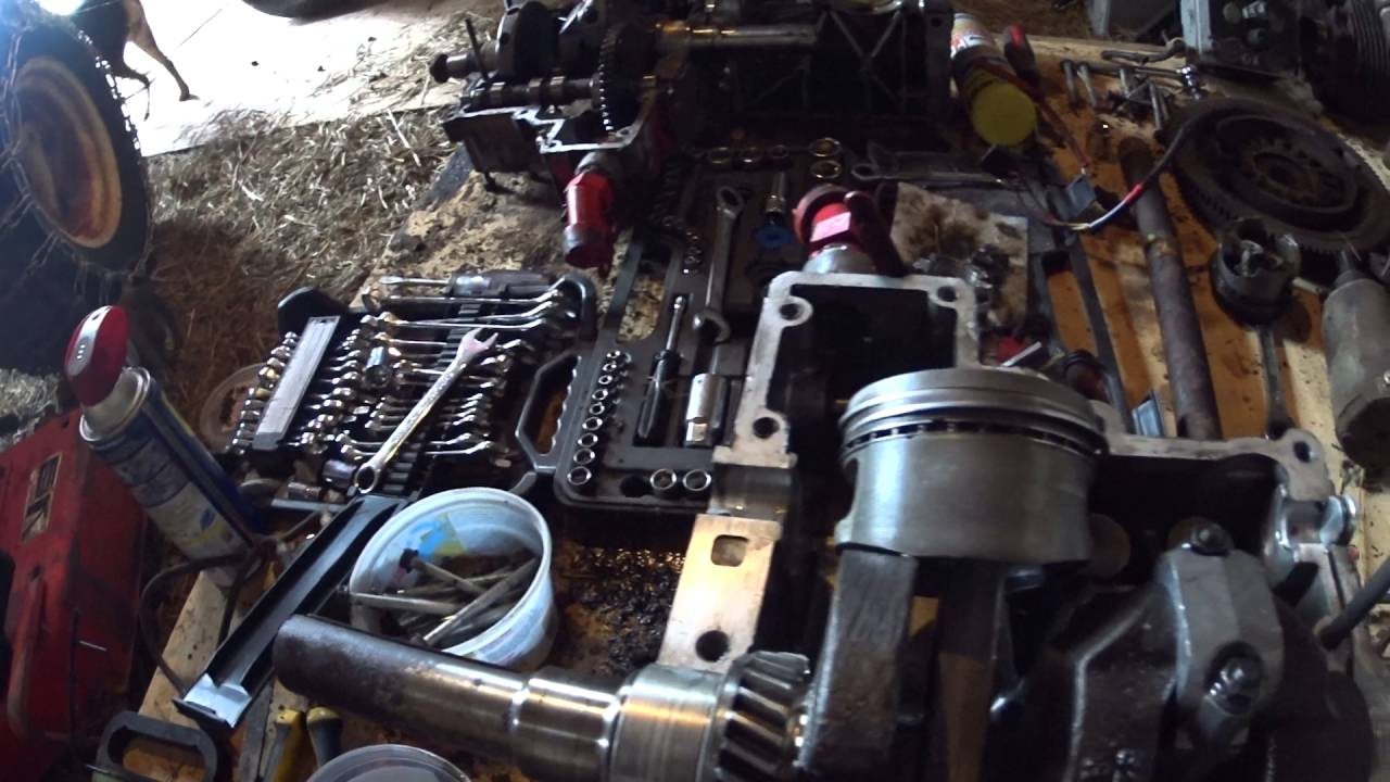 Gravely 16g Kohler Engine Rebuild P1