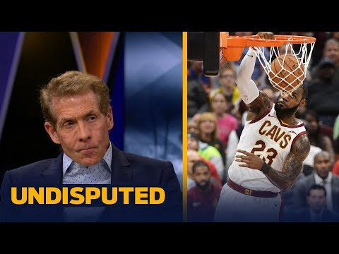 LeBron, Wade struggle in first preseason game together with Cavs - Skip Bayless reacts | UNDISPUTED