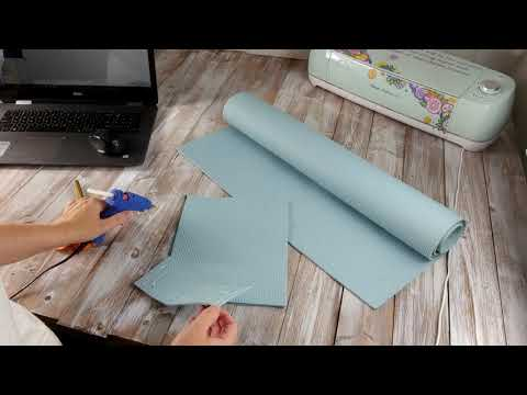 How to make a mouse pad with a wrist rest.
