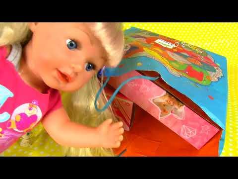 Мешок Подарков для Куклы Эмили Игрушки для девочек Домашние Питомцы Косметика