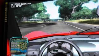 Test Drive Unlimited XBOX 360 HD - premières minutes - partie 1