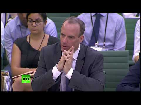 LIVE: Dominic Raab faces #Brexit committee after May announces she's taking over negotiations