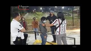 BIKIN HEBOH DENGAN VANDALISME, 2 PEMUDA DI TANGKAP POLISI