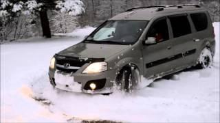 Тест драйв автомобиля: Тест драйв автомобиля: Lada Largus (Лада ларгус)...Покатушки