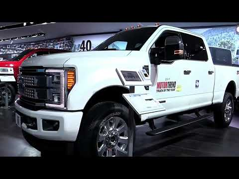 2019 Ford F350 Super Duty Platinum Edition Design Special First Impression Lookaround Marketed 2017