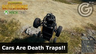 Geek Plays | PUBG Solos |  CARS ARE DEATH TRAPS!