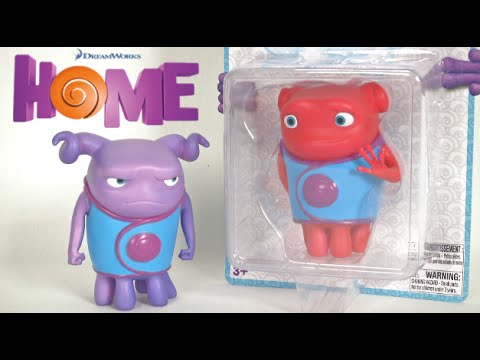 Dreamworks Home Color Changing Figures From Ekids