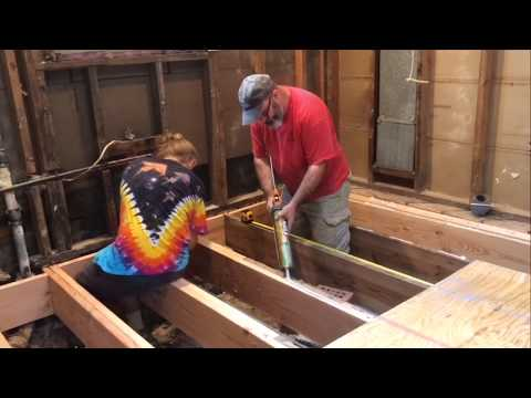 Complete Kitchen Remodel V.3 – Subfloor and Electrical